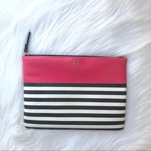 Kate Spade Colorblock Pink Envelope Clutch